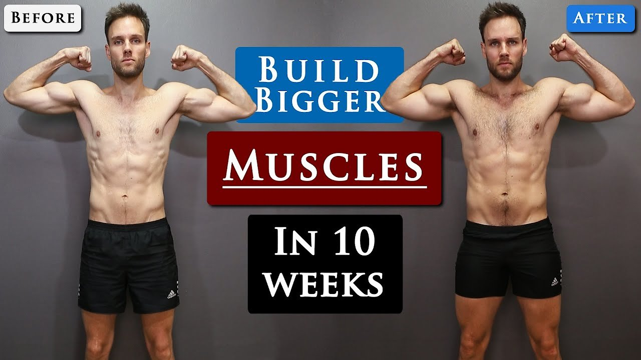 Video poster How to GAIN MUSCLE for SKINNY GUYS | Full WORKOUT ROUTINE