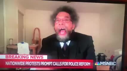Video poster American Philosopher Dr. Cornel West on MSNBC