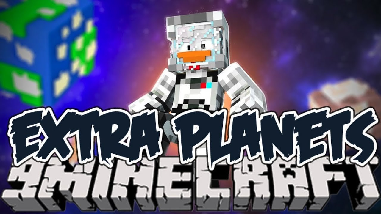Video poster Galacticraft Extra Planets Mod 1.12.2  Minecraft