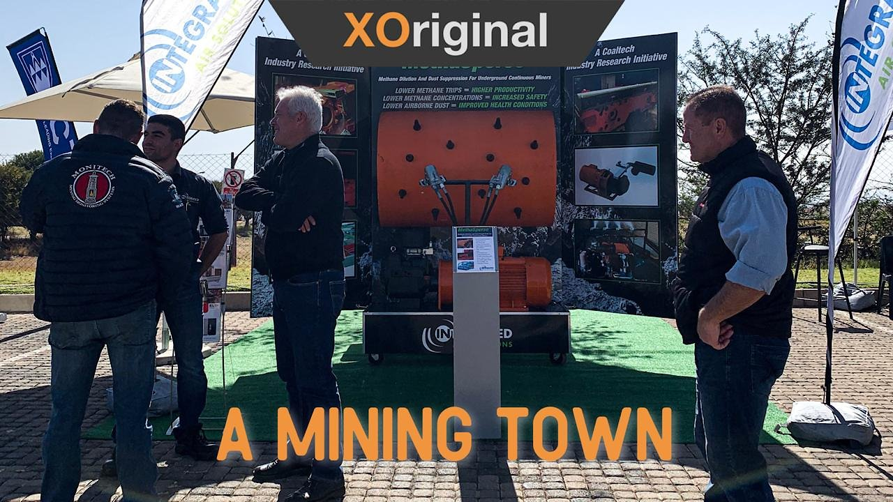 Video poster Mining & Technology Show with clients