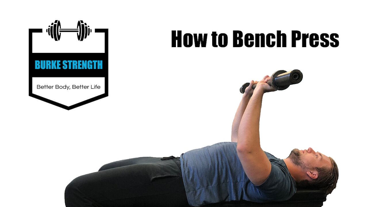 Video poster How to Bench press -  Exercise cue