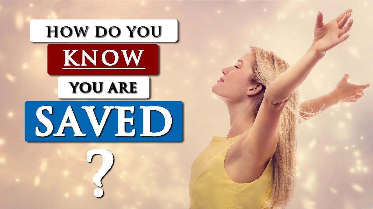 Video poster How to KNOW if you're really SAVED | ASSURANCE OF SALVATION