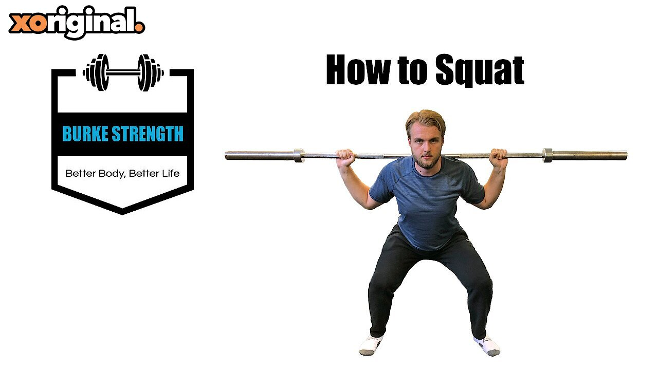 Video poster How to Squat  -  Exercise cue