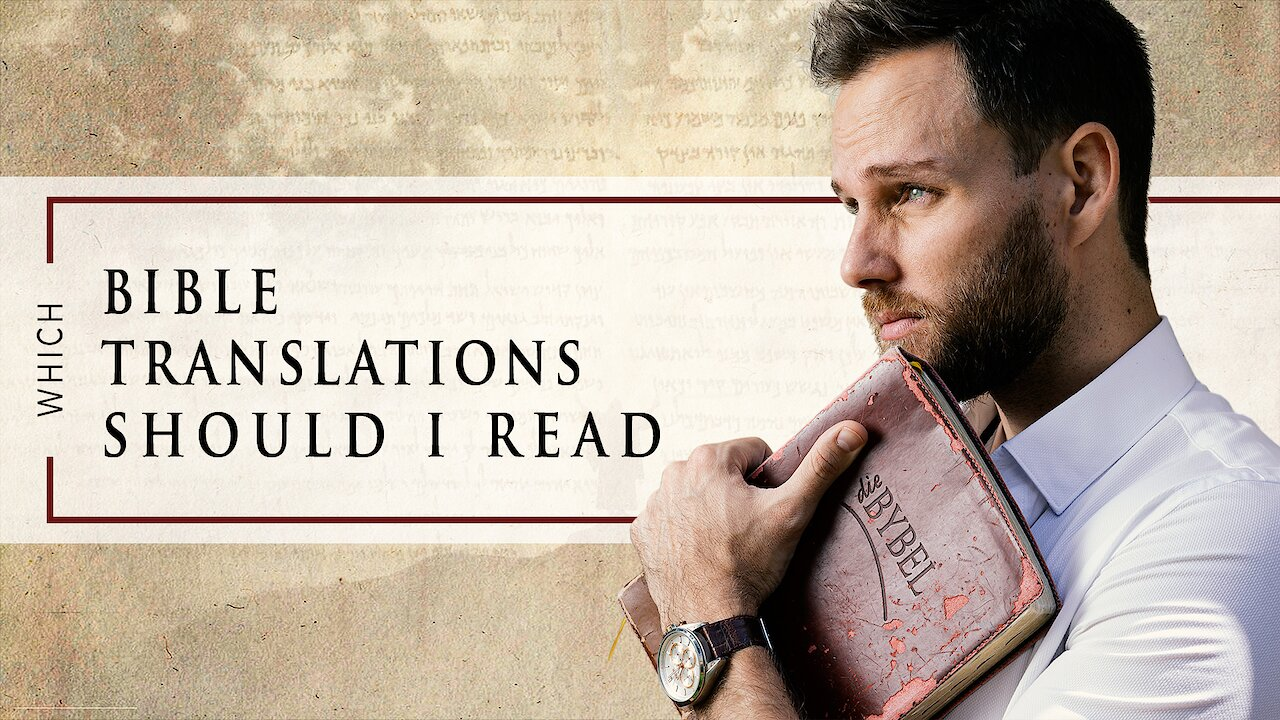 Video poster What BIBLE TRANSLATION should you READ as a CHRISTIAN?