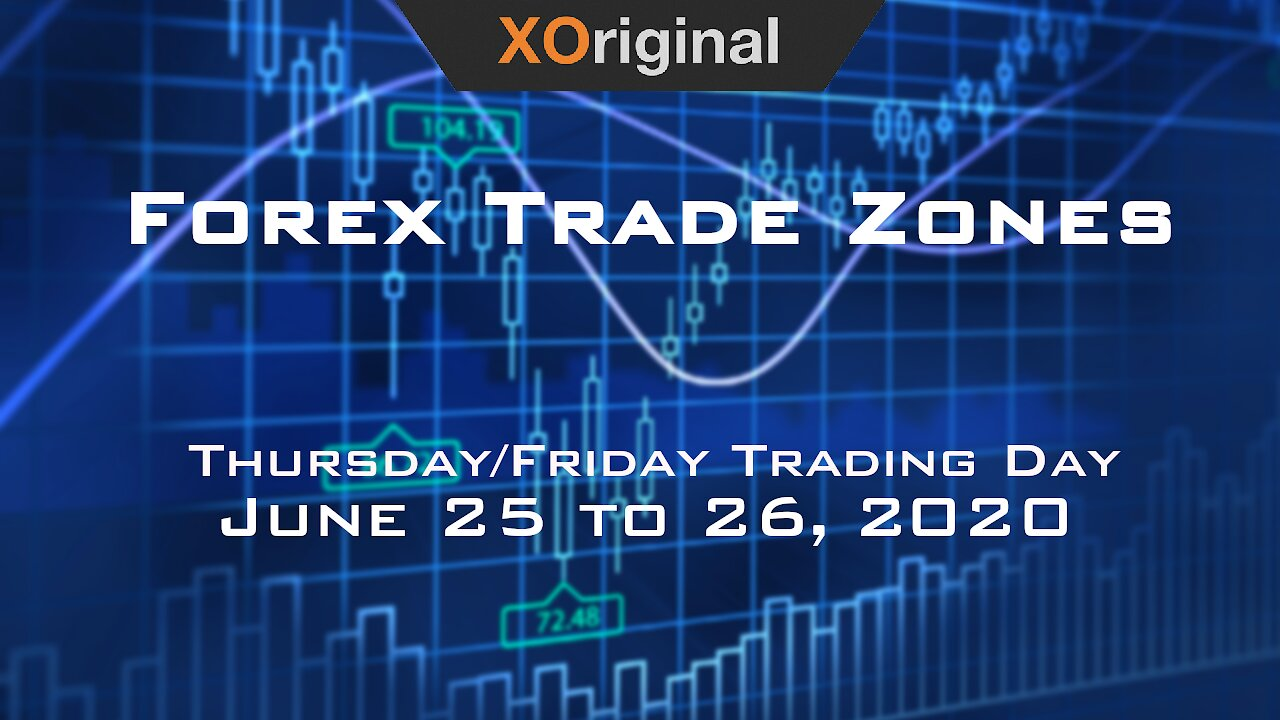 Video poster Forex Trade Zones for June 25 to 26,  2020
