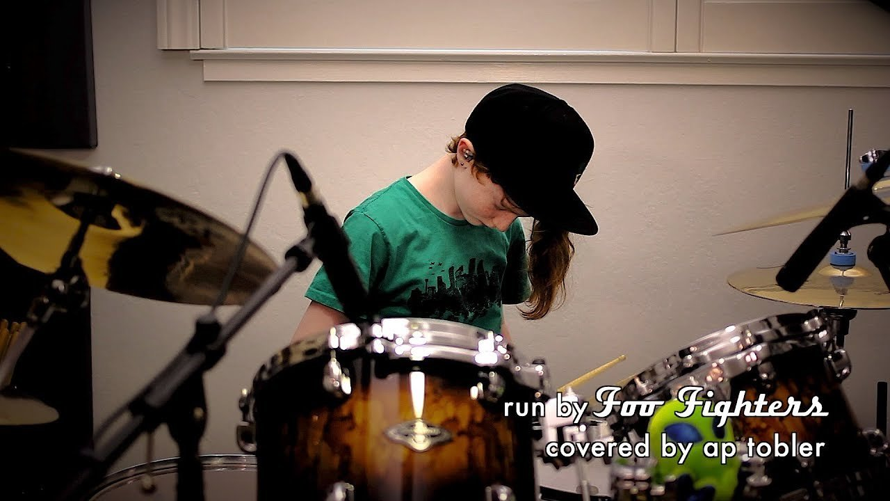 Video poster Run - Foo Fighters Drum Cover