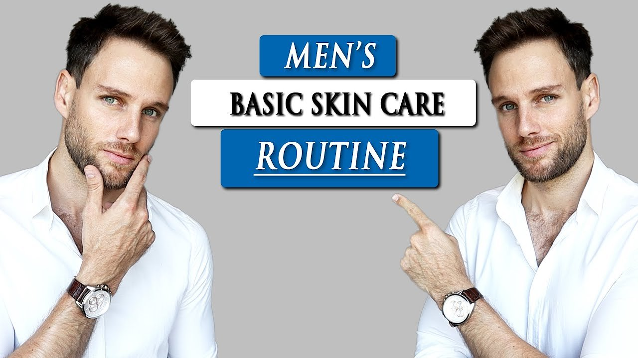 Video poster Basic SKIN CARE ROUTINE tutorial for MEN | Step by step with Geologie