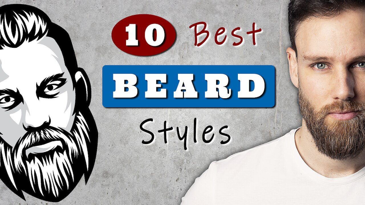 Video poster Best BEARD STYLES for MEN to try