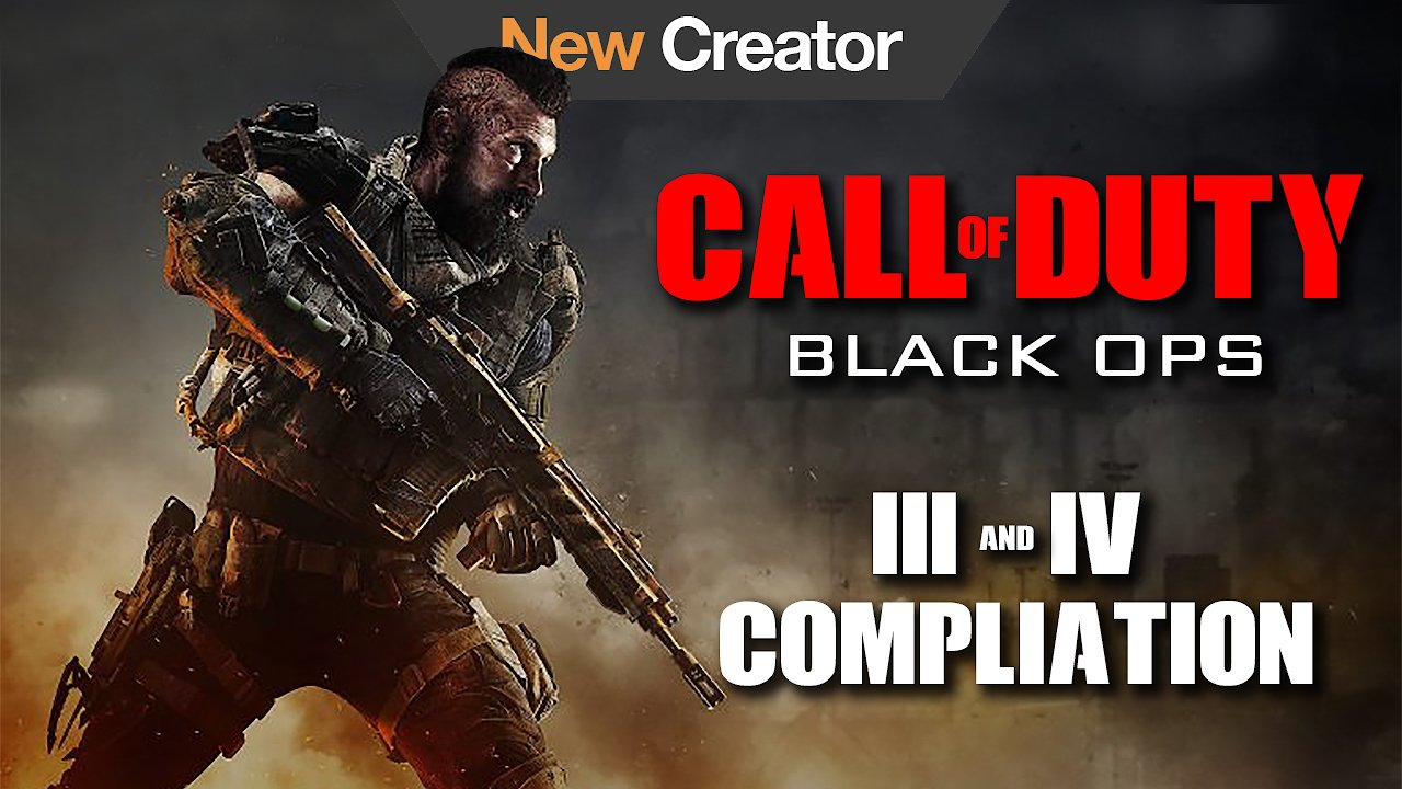 Video poster Call of Duty Black Ops 3 and 4 Compliation
