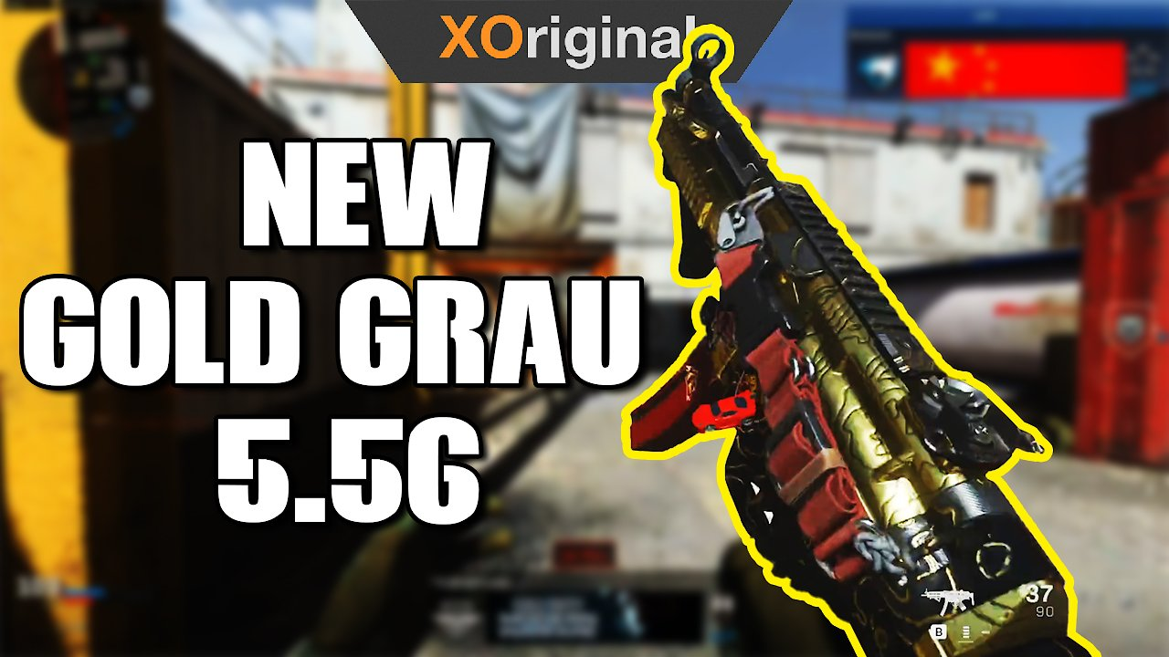 Video poster *NEW* Gold Grau 5.56 (Call of Duty: Modern Warfare Season 2)