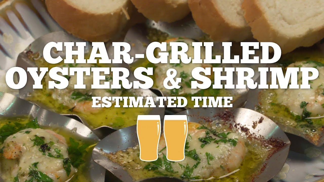 Video poster Char-grilled Oysters w/ SOS Shells Recipe - Episode 3