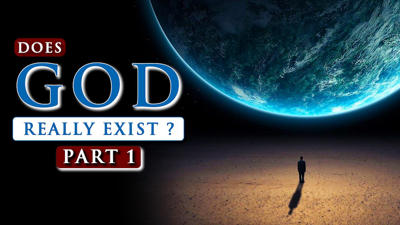 Video poster Does GOD really EXIST? || What is the TRUTH about God?