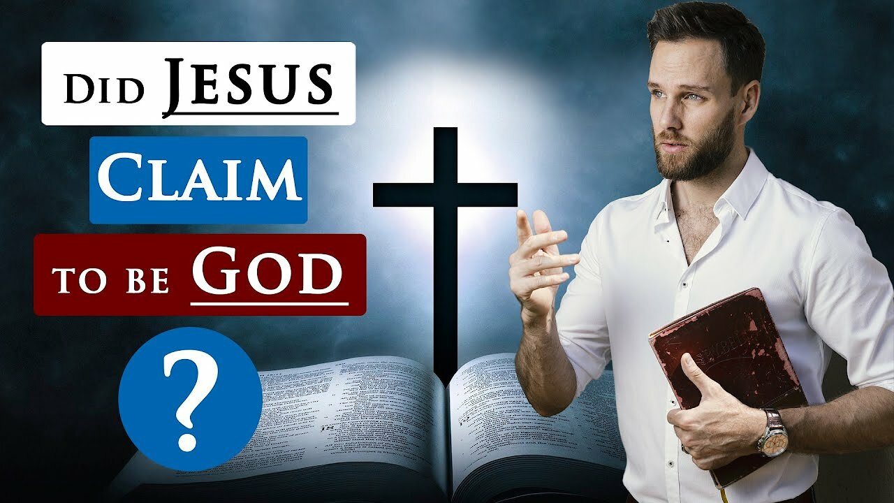 Video poster Did JESUS CLAIM to be GOD | Bible teaching about JESUS CHRIST