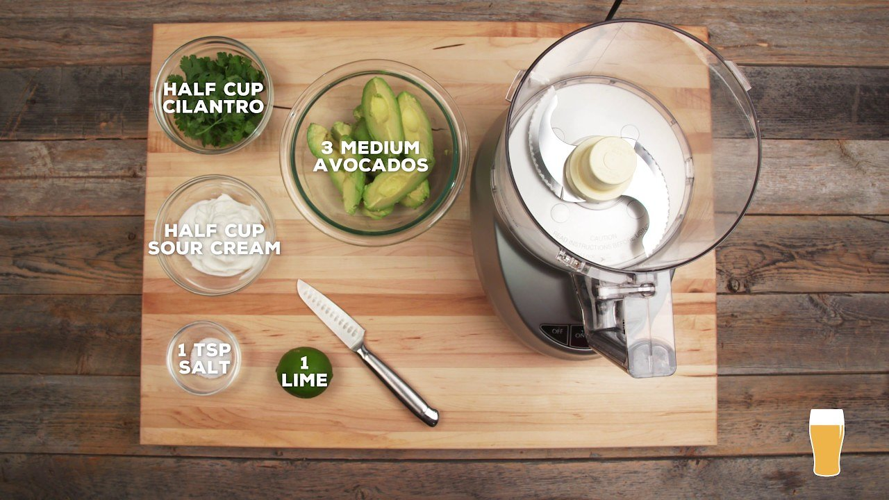 Video poster Avocado Crema Recipe