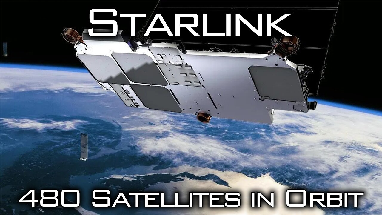 Video poster Starlink Mission 7