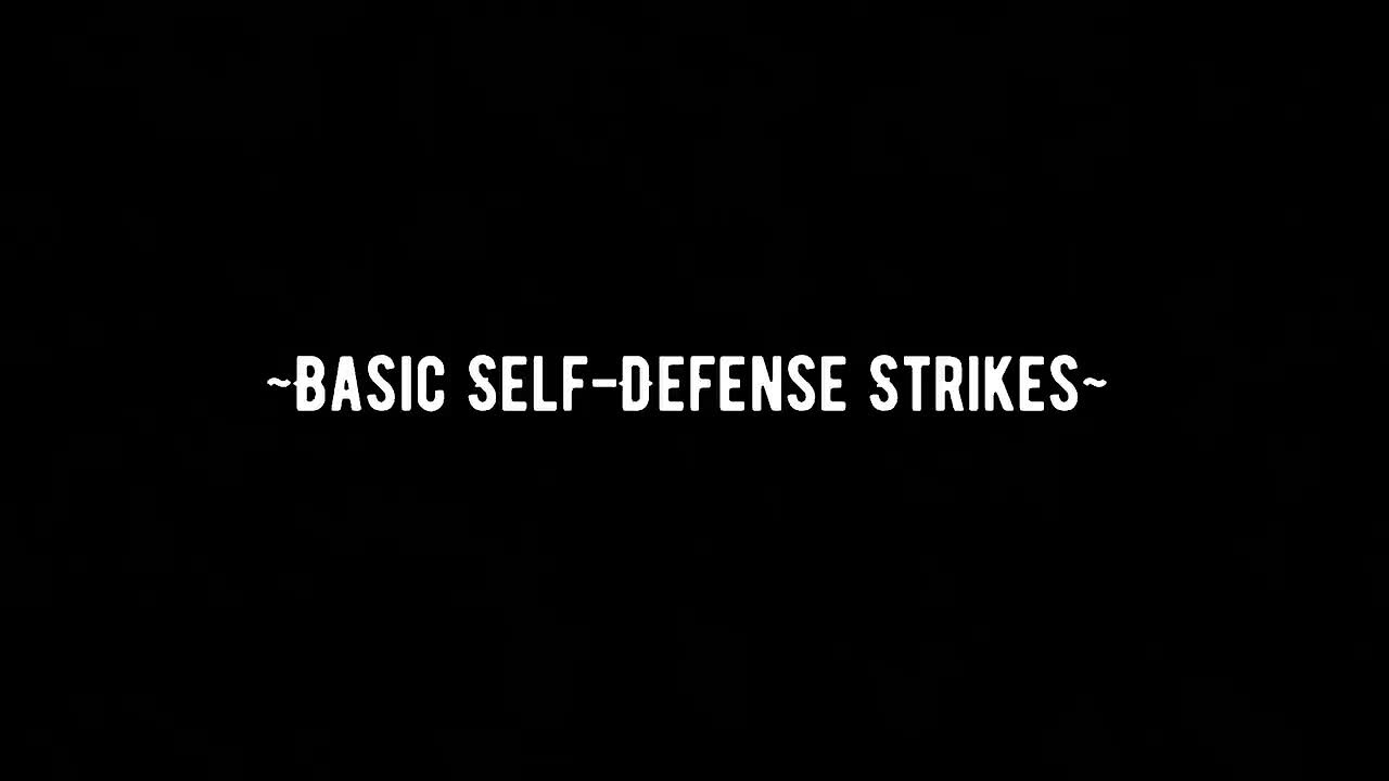 Video poster Self-Defense Strikes