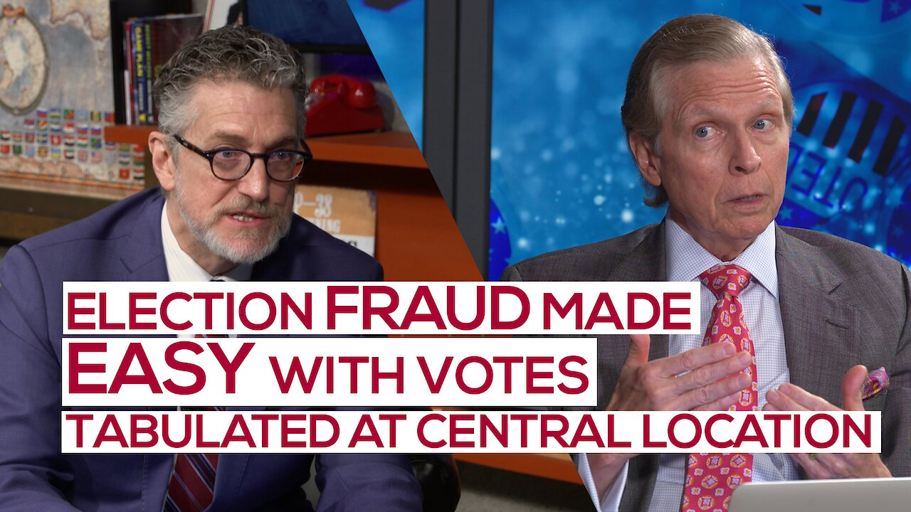 Video poster Election Fraud Documented and Exposed: A Warning to America! | Ep 103