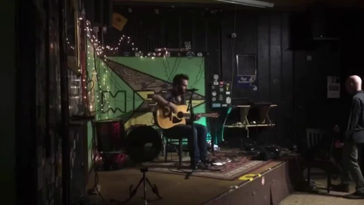 Video poster Limber Brain- Live at the Bremen Cafe July 28th 2018 (acoustic solo set)