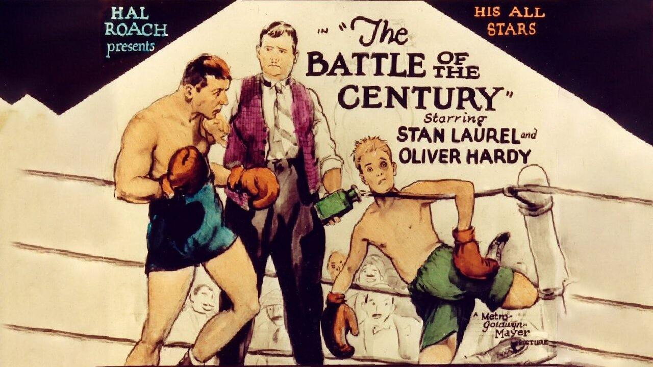 Video poster Laurel & Hardy: The Battel of the Century (1927)