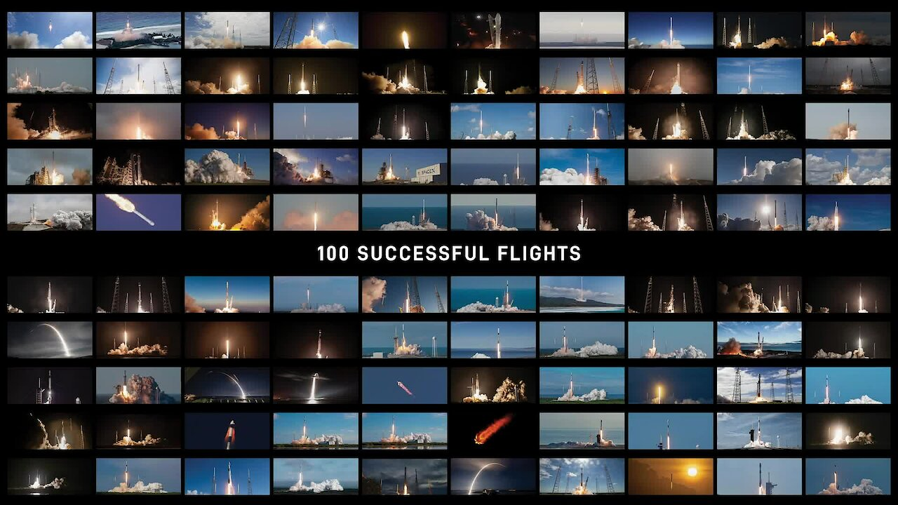 Video poster 100 Successful Flights