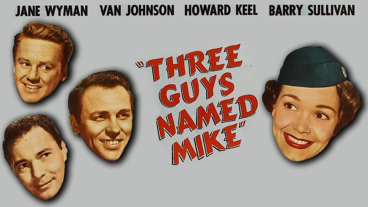 Video poster Jane Wyman: Three Guys Named Mike (1951)