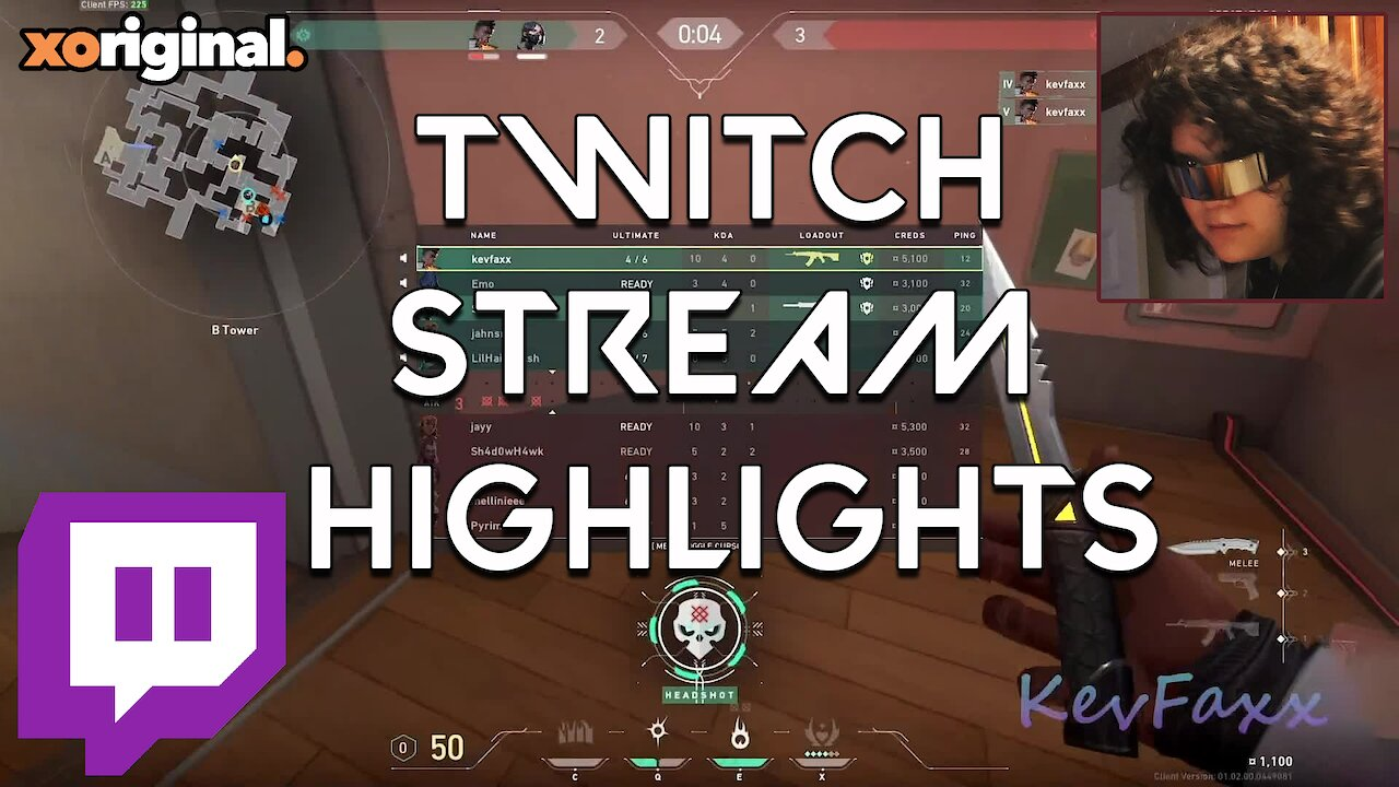 Video poster TWITCH STREAM HIGHLIGHTS #1