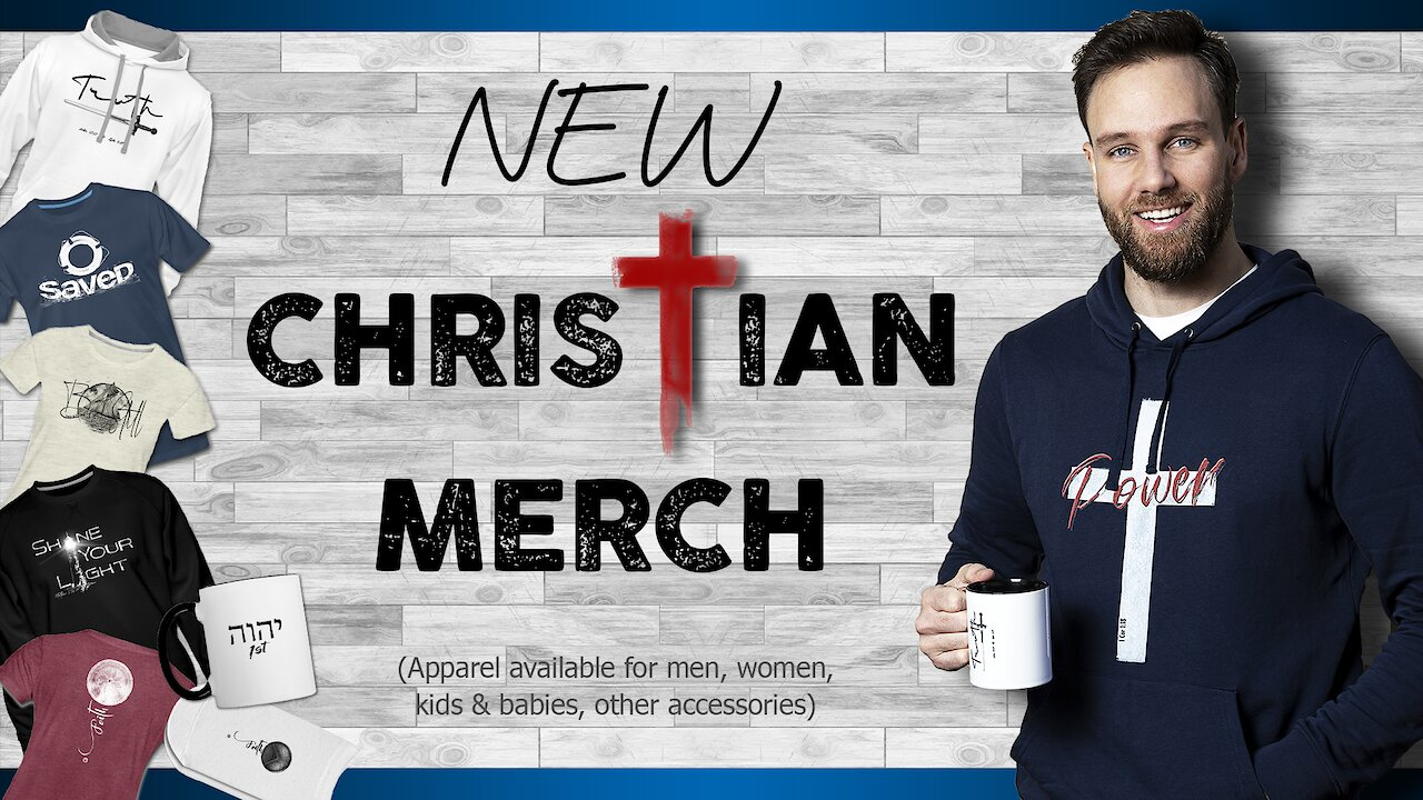 Video poster New CHRISTIAN CLOTHING 2020 |  DLM Christian Lifestyle Merch