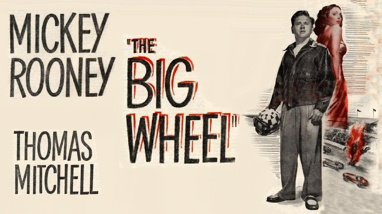 Video poster Mickey Rooney: The Big Wheel (1949)