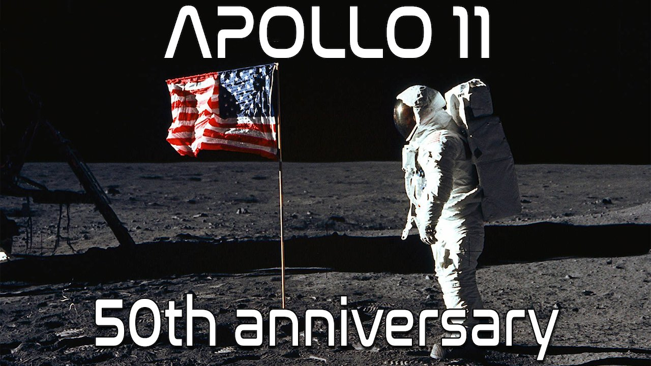 Video poster Historic Apollo 11 Moonwalk Footage
