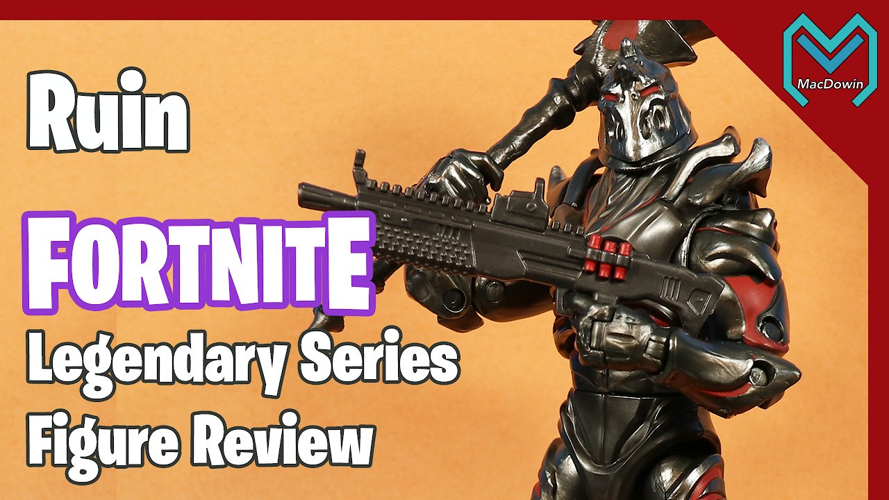Video poster *NEW RUIN LEGENDARY SERIES 2020* | 6 Inch Action Figure Review | Jazwares Fortnite