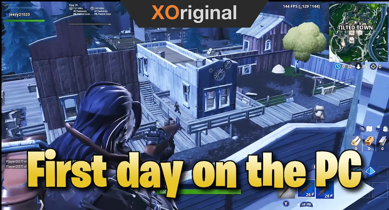 Video poster Fortnite Montage of my first day on the PC