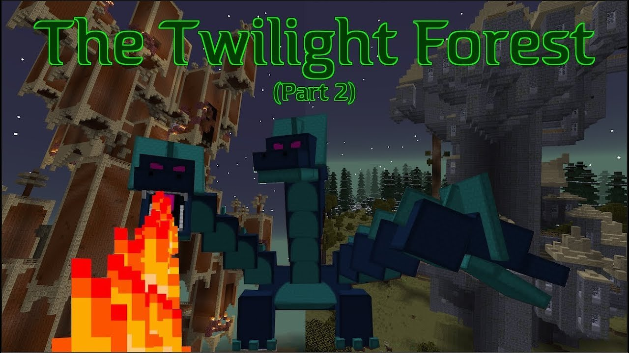 Video poster The Twilight Forest 1.12.2 (Part 2) The Mobs | Minecraft