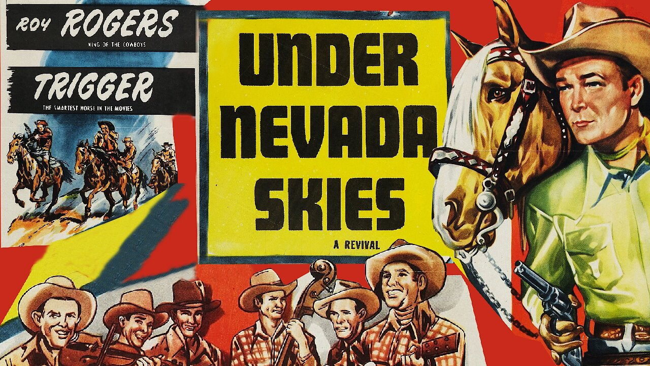 Video poster Roy Rogers: Under Nevada Skies (1946)