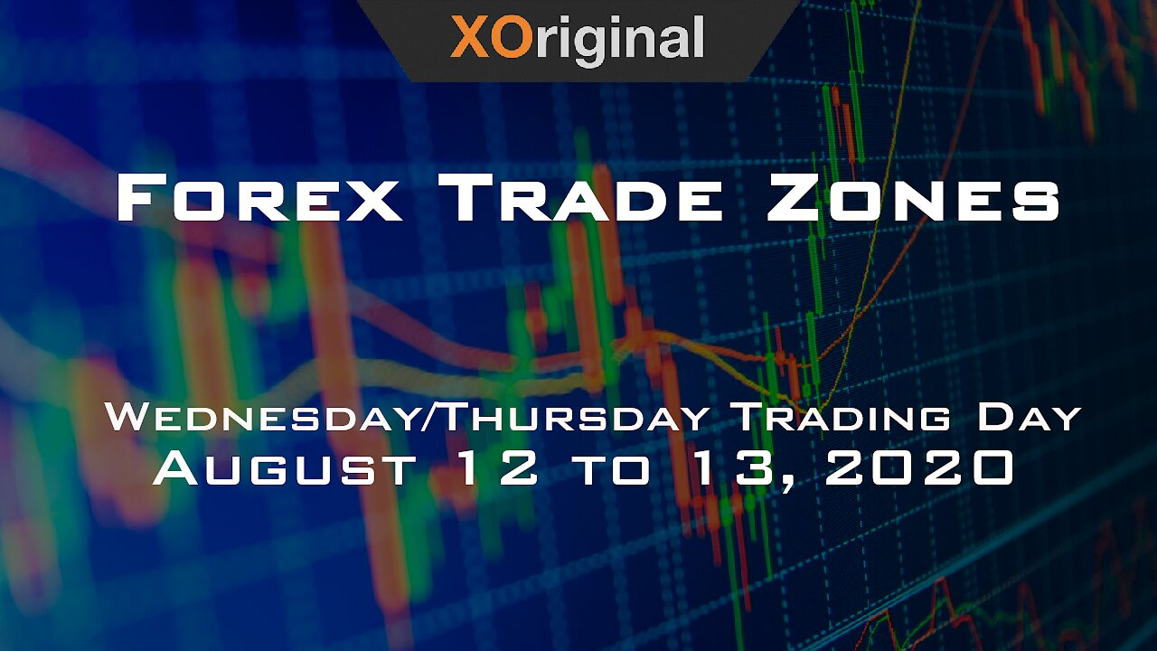 Video poster Forex Trade Zones for August 12 to 13,  2020