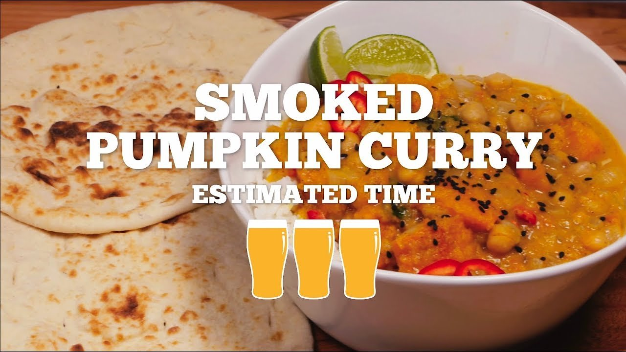 Video poster Smoked Pumpkin Curry Recipe - Episode 28