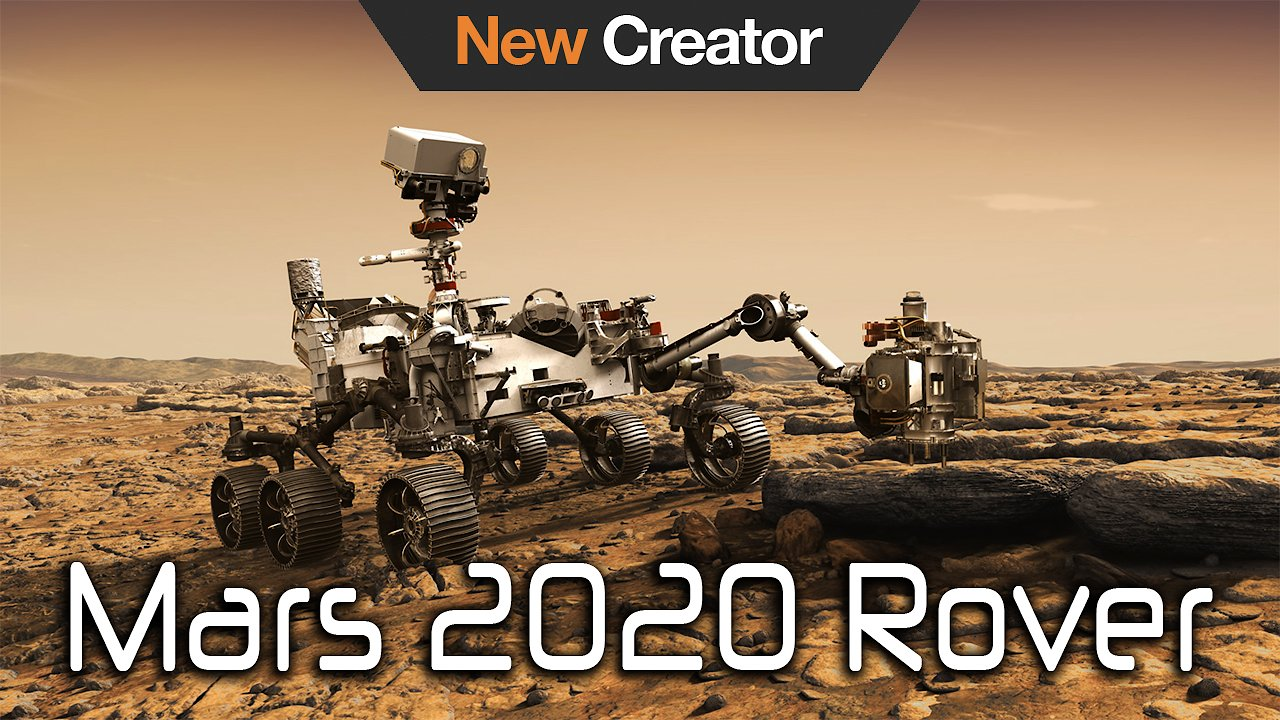 Video poster Building NASA's Mars 2020 Rover