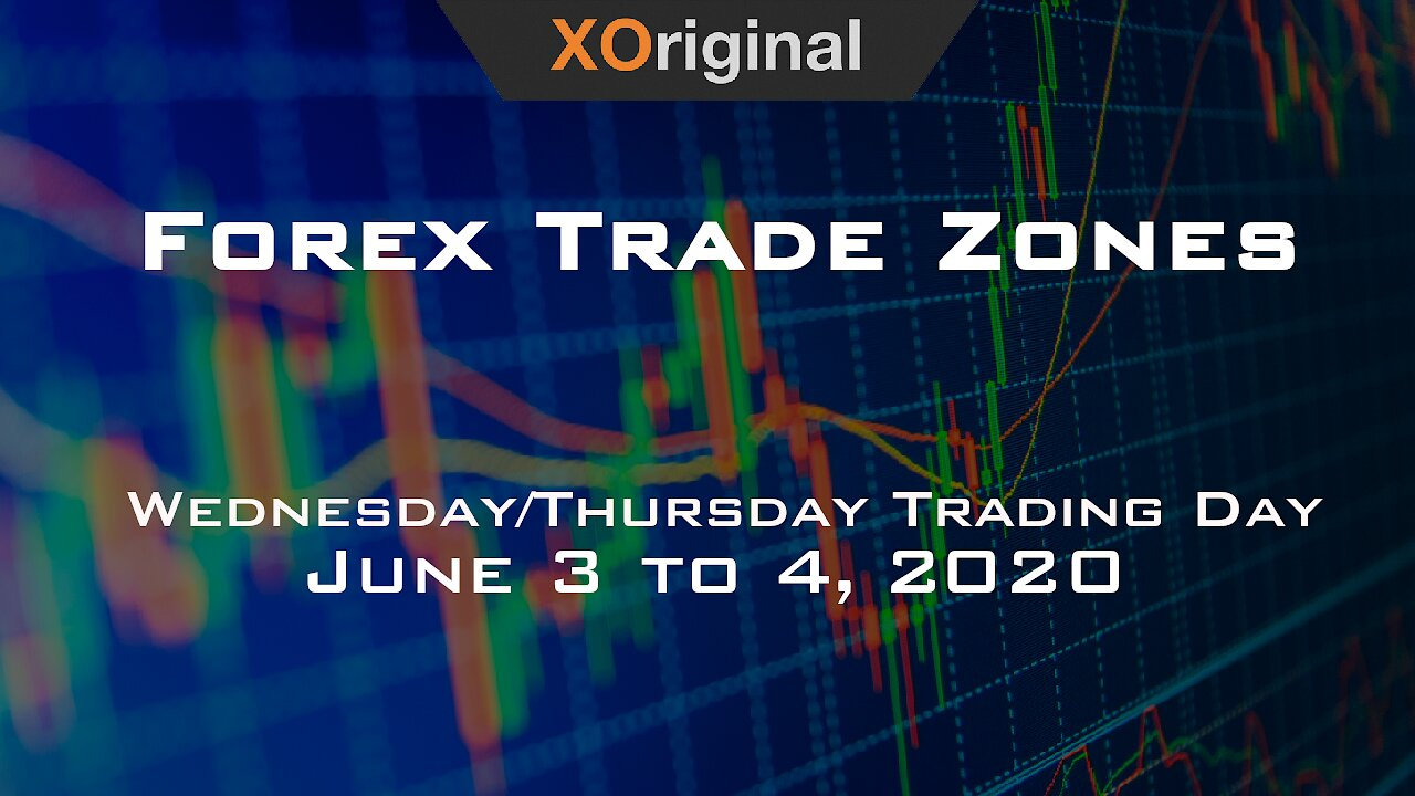 Video poster Forex Trade Zones for June 3 to 4,  2020