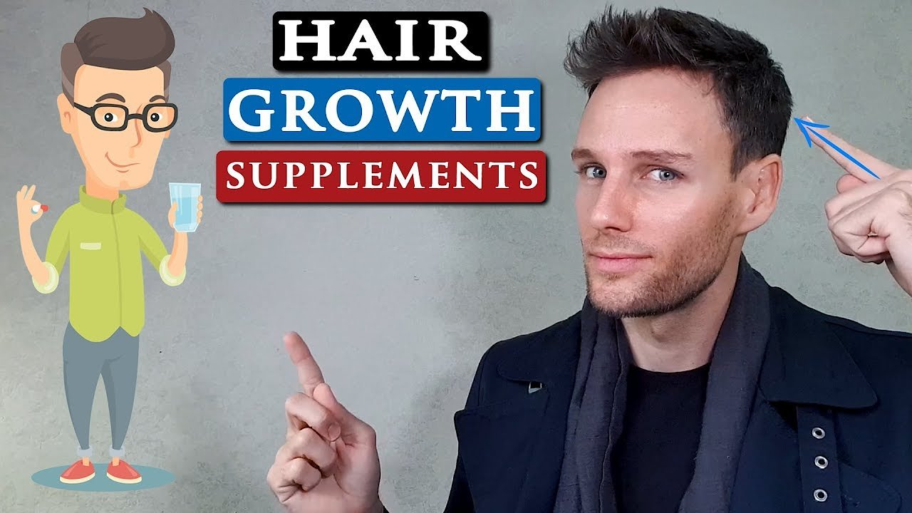 Video poster Best supplements for HAIR GROWTH and THICKNESS