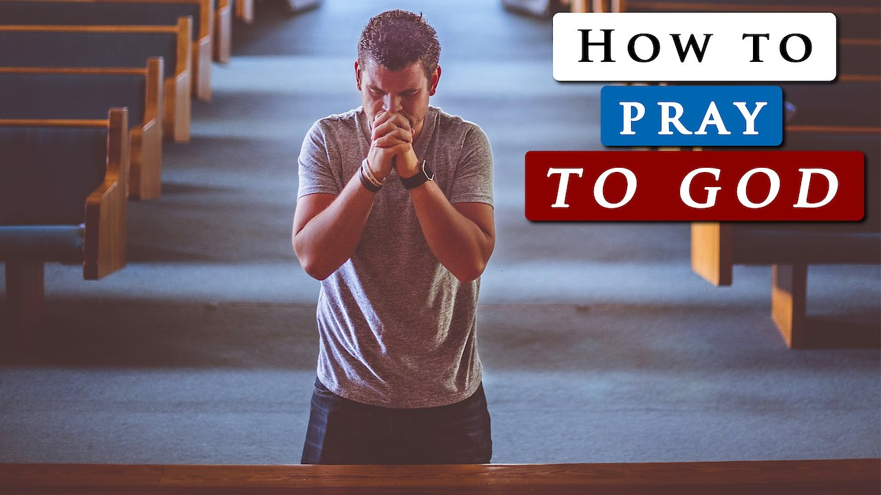 Video poster How to PRAY to GOD for HELP effectively 🙏