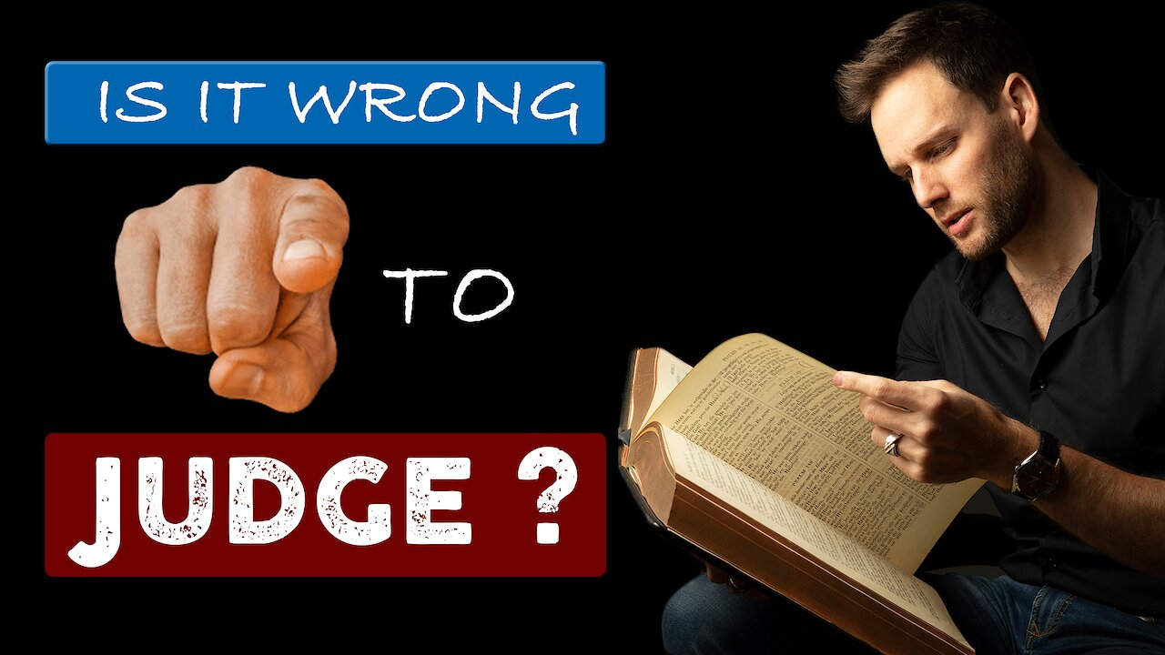 Video poster What does the BIBLE REALLY SAY about JUDGING OTHERS?