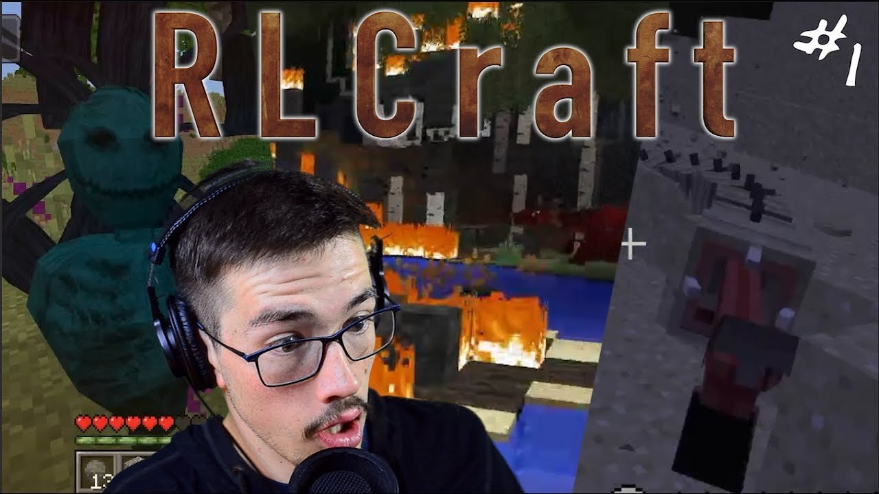Video poster Um...---...  RLCraft #1