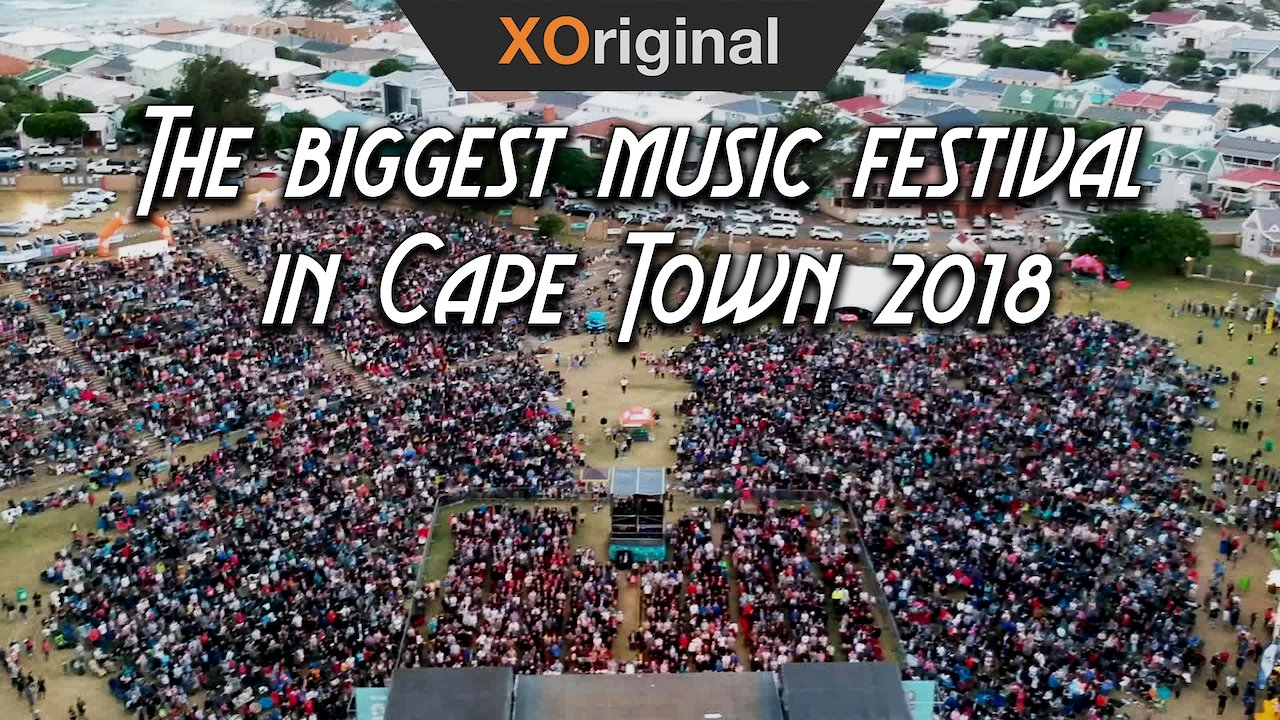 Video poster The biggest music festival in Cape Town 2018