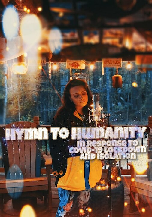 "Video poster Ep.1 ""Hymn to Humanity"" - Veronica Vitale in Response to Covid-19 - Artist United"