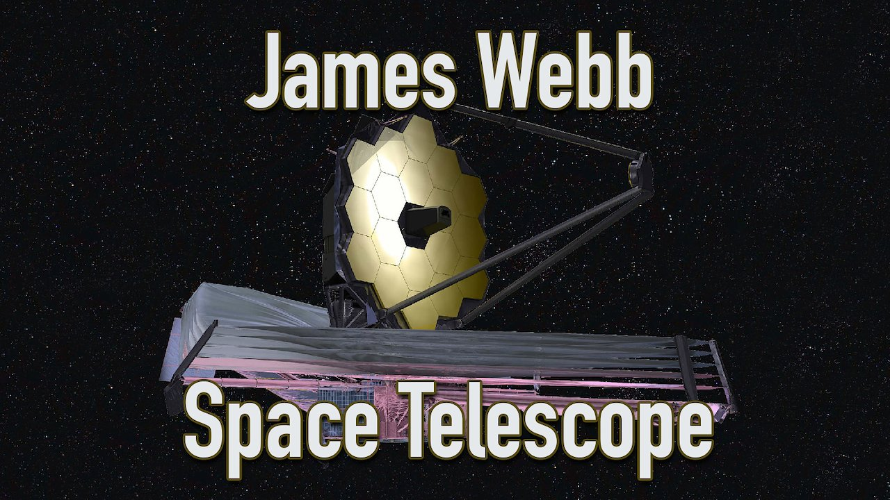 Video poster James Webb Space Telescope: Overview