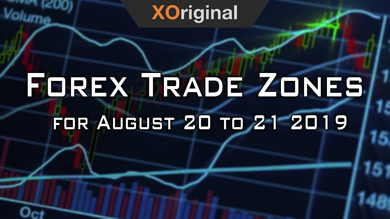 Video poster Forex Trade Zones for August 20 to 21 2019
