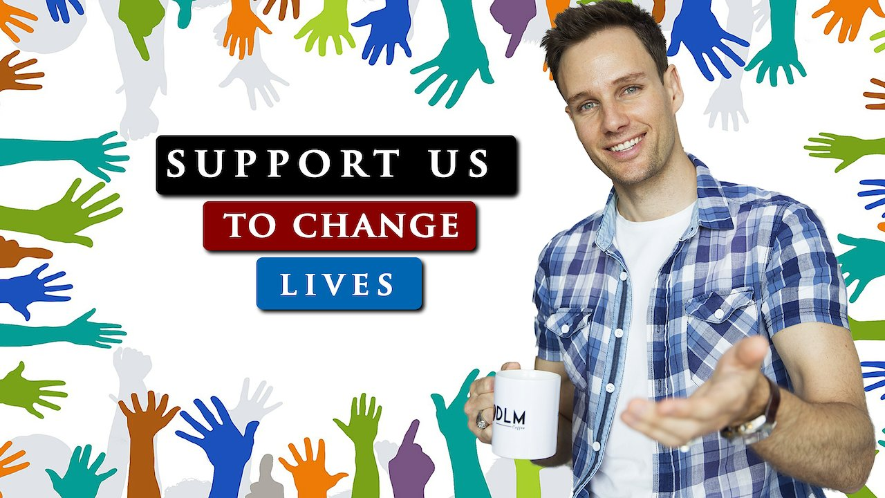 Video poster 5 WAYS that you can SUPPORT us to CHANGE LIVES