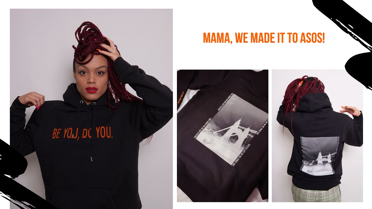 Video poster Mama, We Are On Asos! There is a story ...