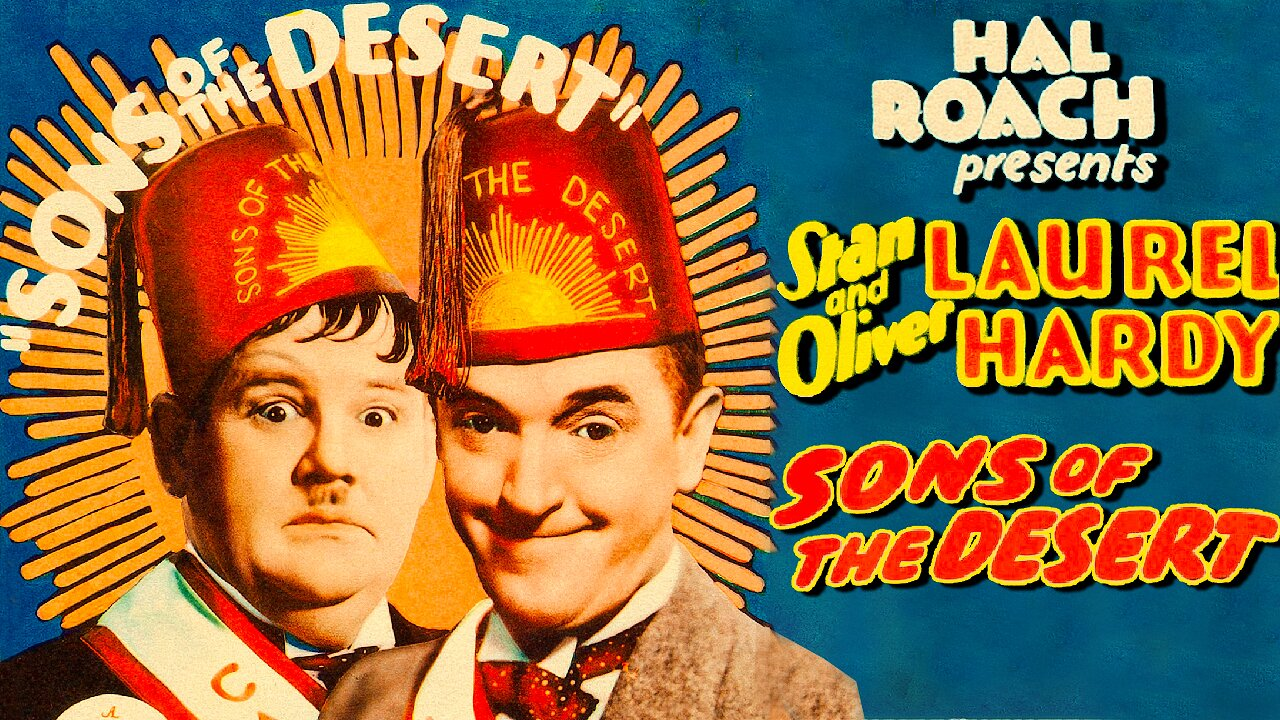 Video poster Laurel & Hardy: Sons of the Desert