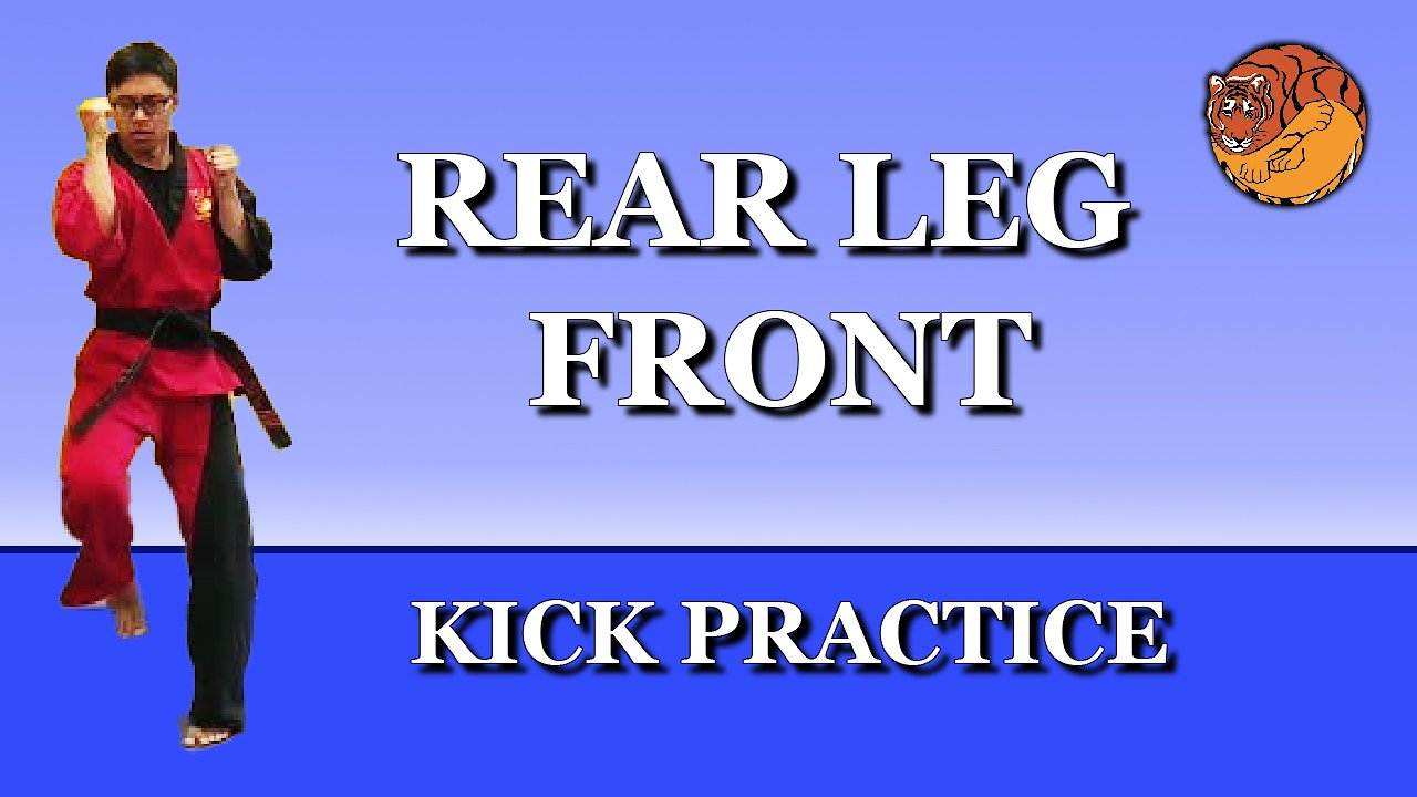 Video poster Kick Practice: rear leg front