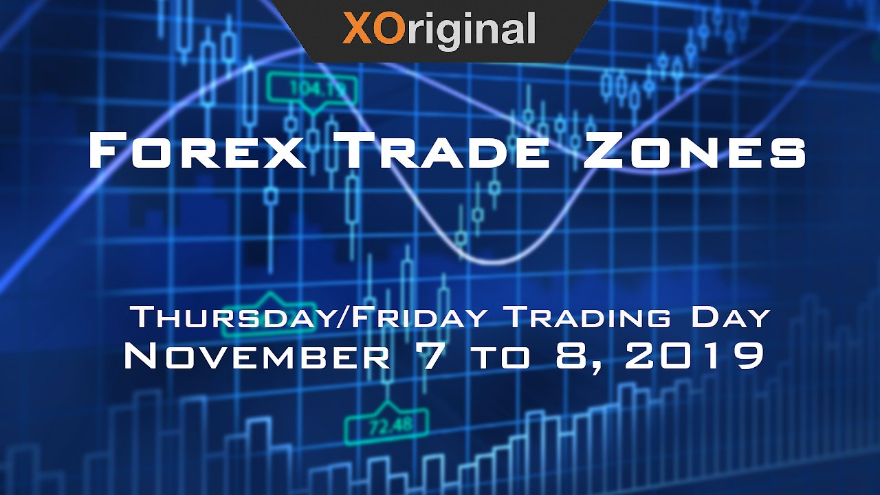 Video poster Forex Trade Zones for November 7 to 8,  2019